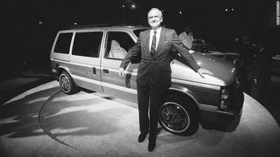 Lee Iacocca: Mustang mastermind and tireless Chrysler savior, dies at 94