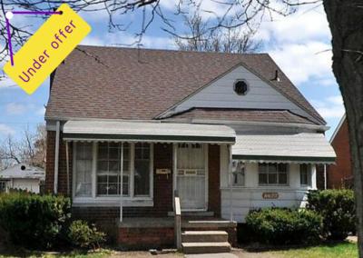 7766 Warwick, Detroit, Michigan 48228 | Can I Invest | cash positive investments | positive cash flow investments | why invest in detroit