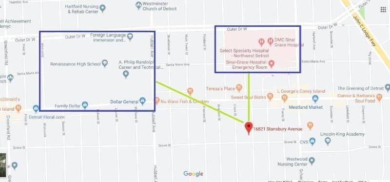 16821 Stansbury Ave Detroit MI 48235 | Cashflowpositive.com