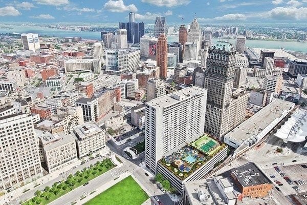 Detroit rents jump in June, increase slightly over the year