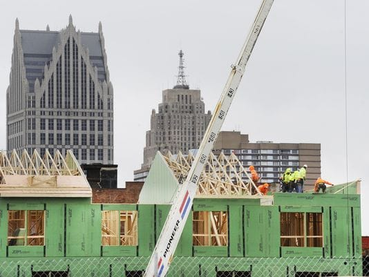 Mapping Detroit's construction boom