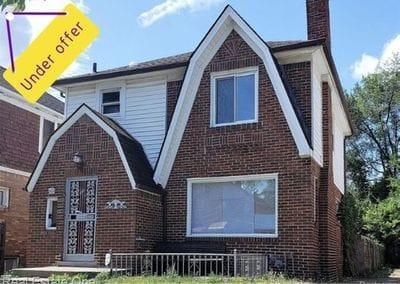 16239 Birwood St Detroit MI 48221 | Cashflow Positive | cash positive investments | positive cash flow investments | why invest in detroit