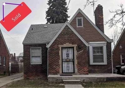 10000 Marlowe Street, Detroit MI 48227 | Cashflow Positive | cash positive investments | positive cash flow investments | why invest in detroit