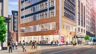 H&M to open Nov. 21 in downtown Detroit
