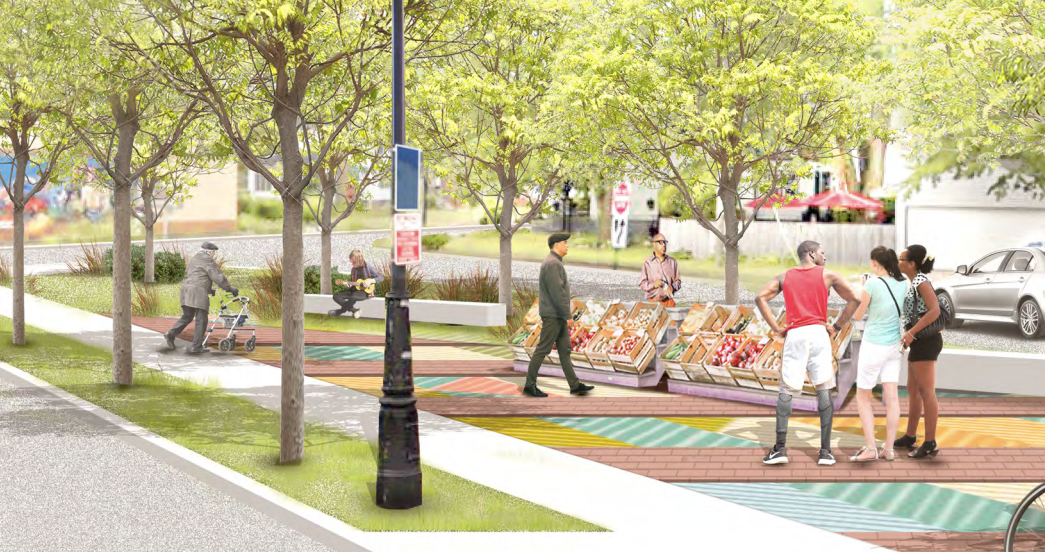 Grand River Streetscape Project: The Newly Renovated Gateway to Downtown Detroit