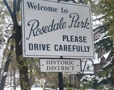 Today's Live Footage in Detroit: ?Rosedale Park Historic District
