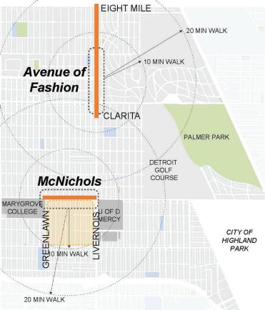 McNichols/Livernois Streetscape Project