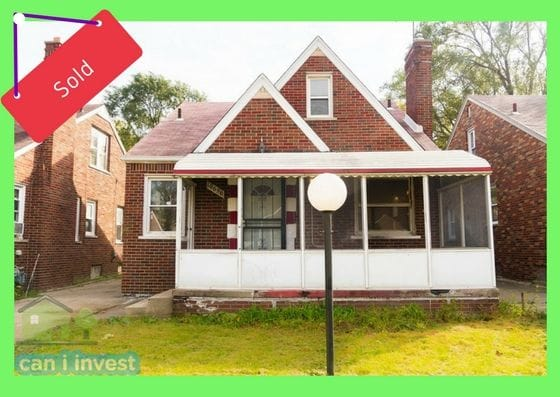10696 Stratman St, Detroit, MI | Can I Invest | cash positive investments | positive cash flow investments | why invest in detroit