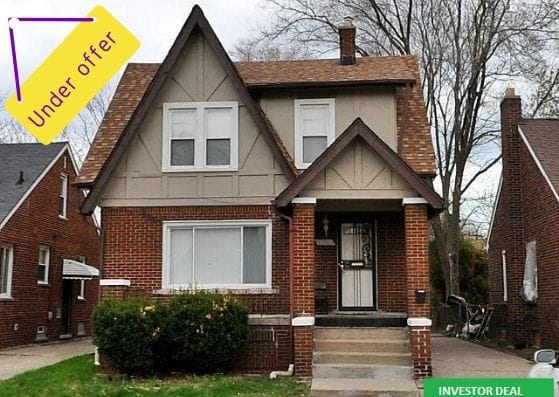 18680 Hamburg St, Detroit | Can I Invest | cash positive investments | positive cash flow investments | why invest in detroit