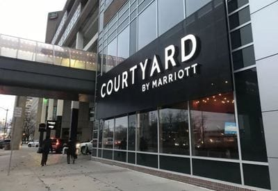 Bedrock purchases GM's Courtyard by Marriott hotel
