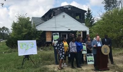 Duggan unveils $250 million bond plan to rid Detroit of blight in 5 years