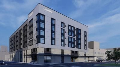 $50 million upscale Cambria Hotel in downtown Detroit expected to open in third quarter 2020