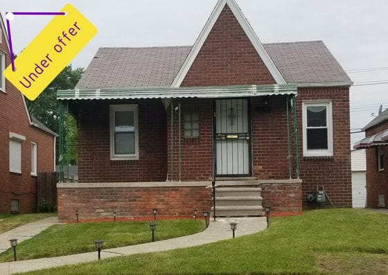 17221 Rowe St, Detroit | Can I Invest | cash positive investments | positive cash flow investments | why invest in detroit