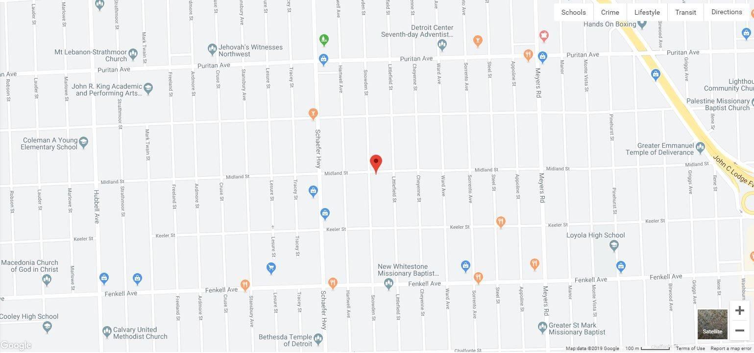 15518 Snowden St Detroit MI 48227 | Cashflowpositive.com