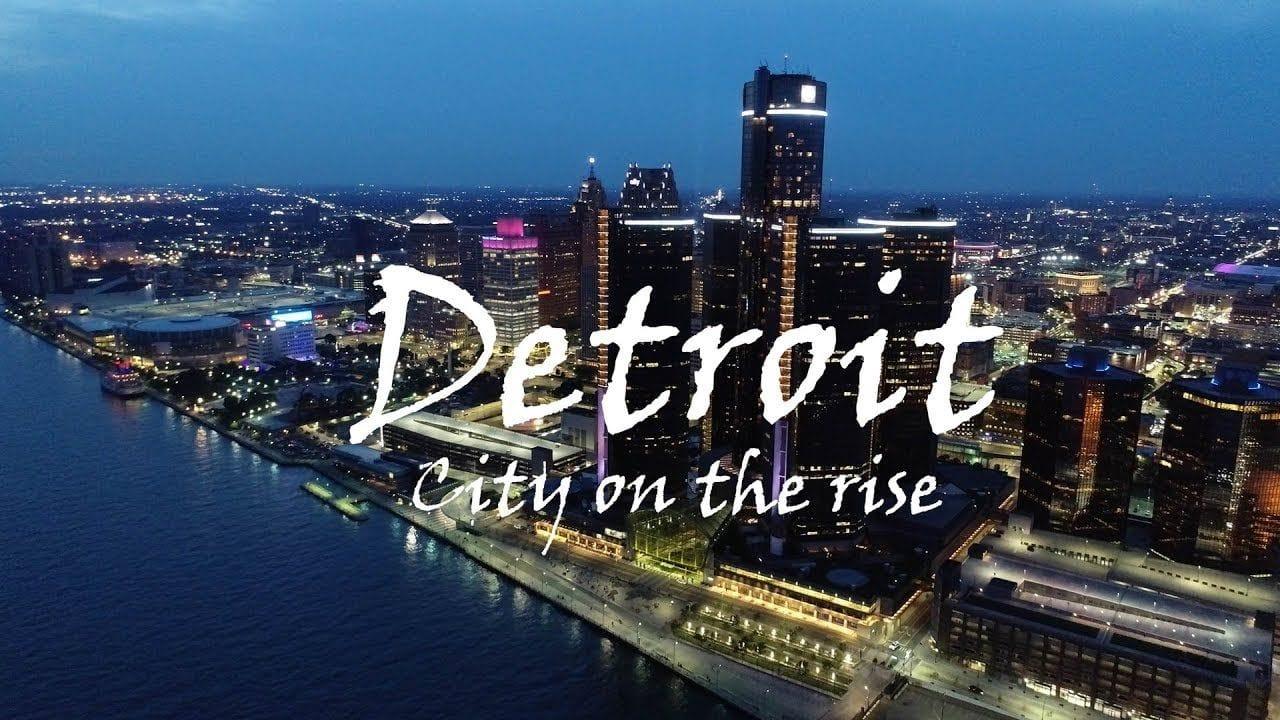 Detroit city at night | Cashflow Positive Properties | Detroit Real Estate