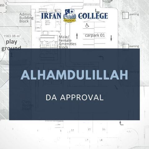 DA Approval