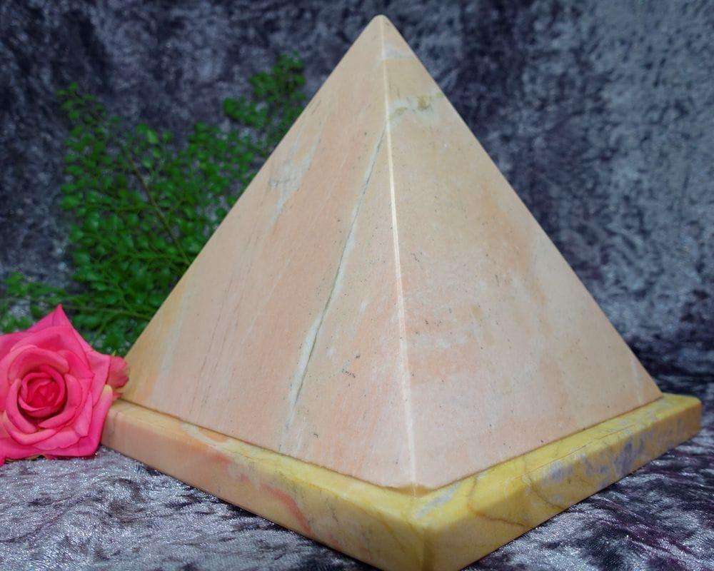 Pyramid Shaped Urn