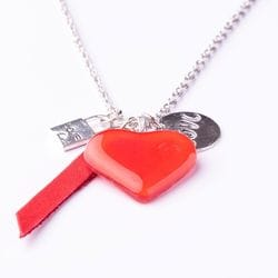 AMOUR Necklace - Red