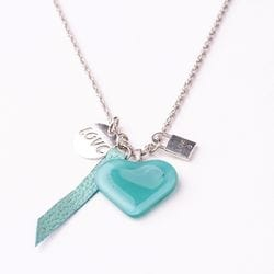 Amour Necklace - Aqua