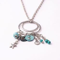 Mix Necklace - Aqua