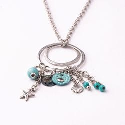 Mix Necklace - Aqua