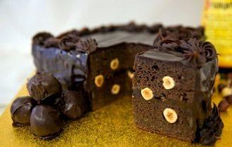 Ferrero Rocher Mud Cake by Pasticceria Francesco