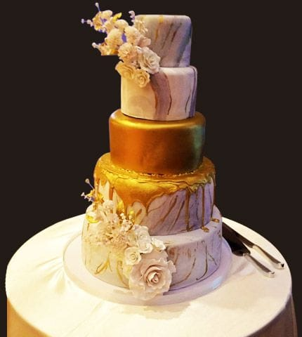 Francesco's speciality is in making the cakes look enticing and taste divine