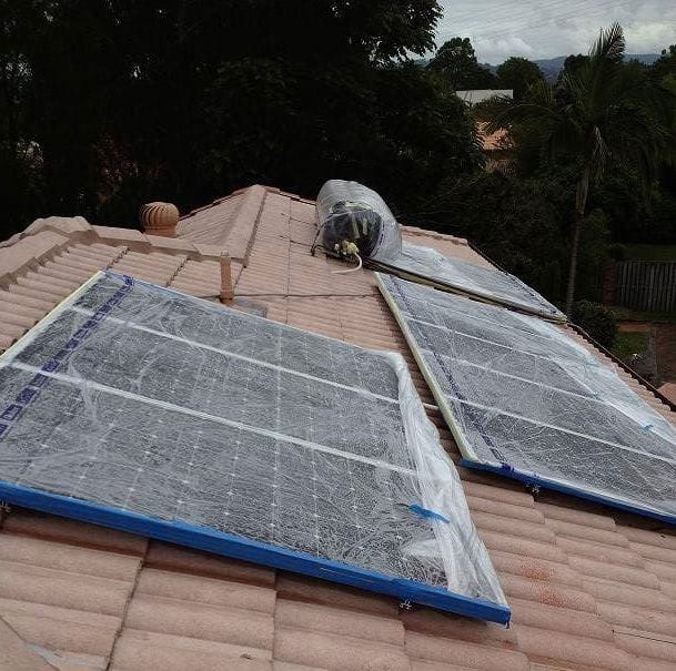 Roof Restoration - Solar Panels
