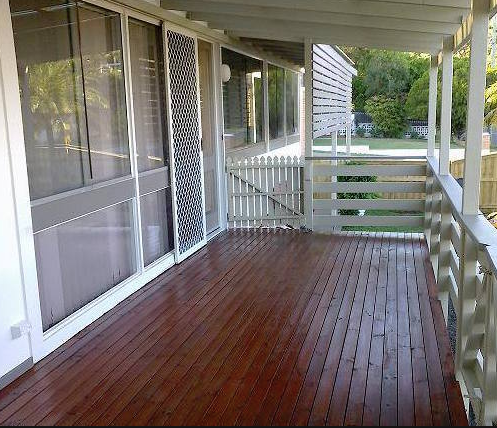 Timber Deck painting