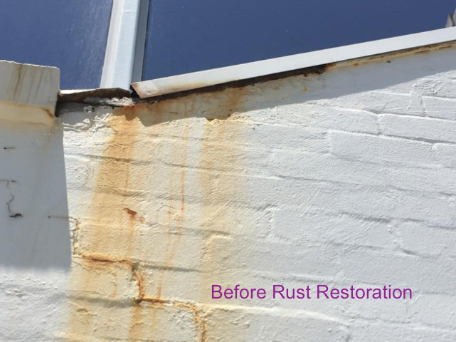 Roofing/Exterior Wall Rust Restoration