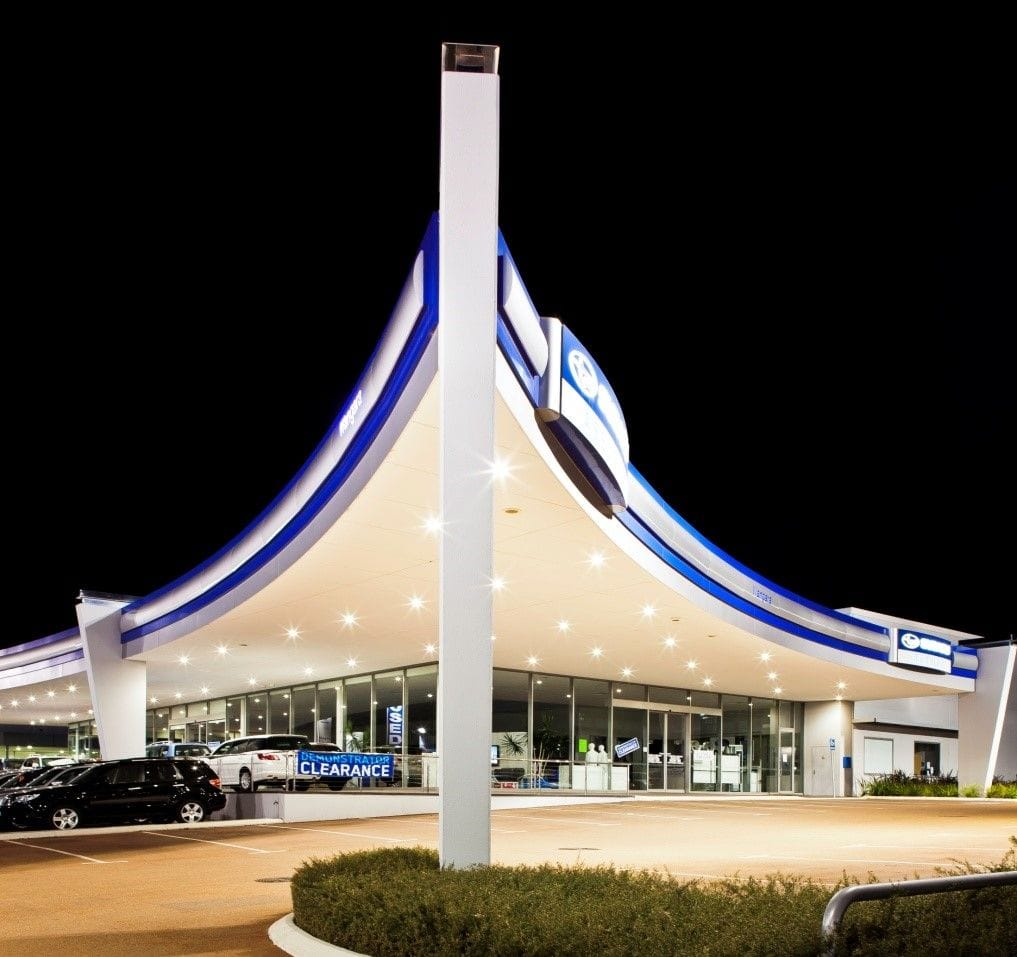 Car Showroom - Subaru