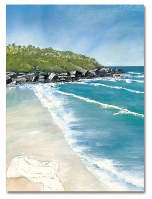 Alexandra Bay, Noosa Camino reflection site 12