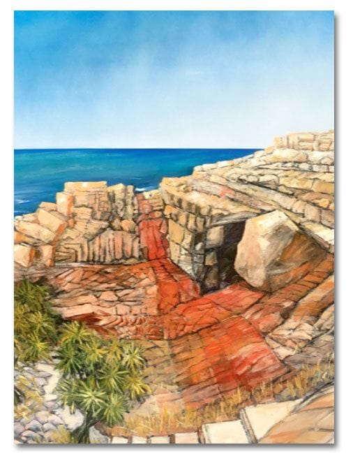 Lion Rock Headland, Noosa Camino reflection site 13