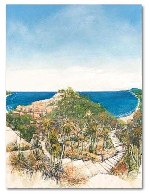 Paradise Rocks, Noosa Camino reflection site 14