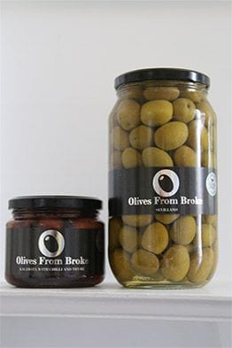 Olive Jars, Olives From Broke