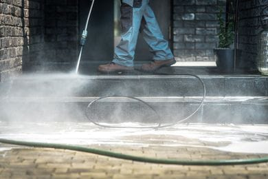 Early Spring Cleaning: Winter Pressure Washing Tips for Your Commercial Property