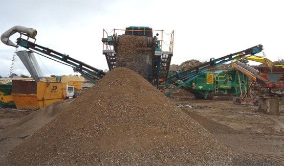West Coast Waste recycled crushed concrete