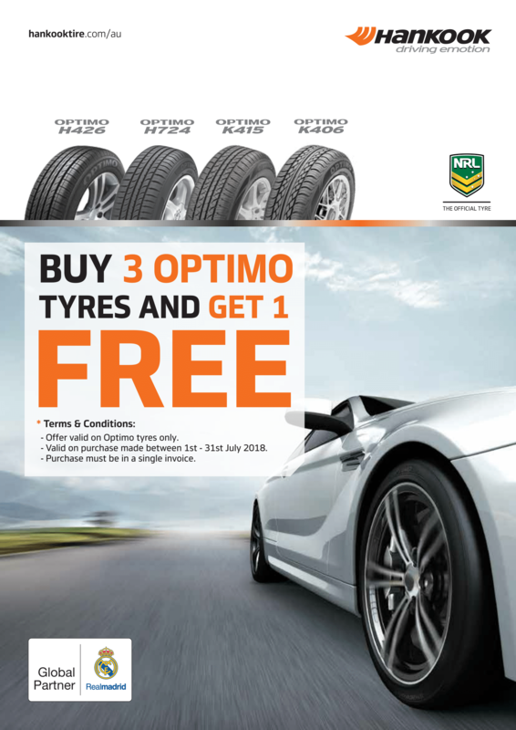 Hankook Promotion - July 2018