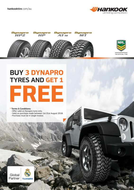 Hankook Promotion - August 2018