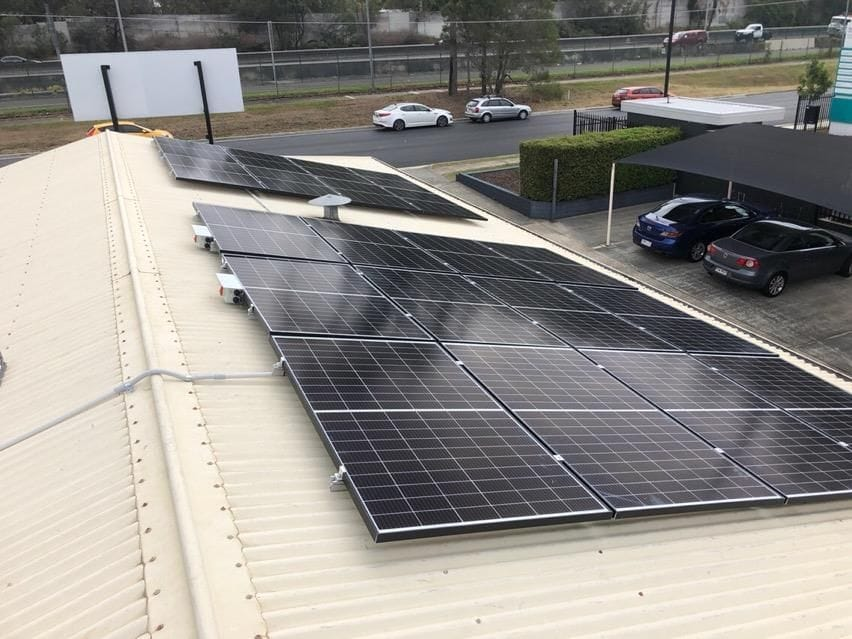6.6kW Commercial Solar Huawei inverter and Trina panels