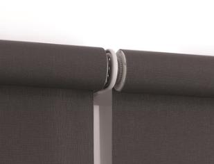 Close up of Quantum roller blind link system