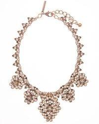 Golden Crystal Necklace