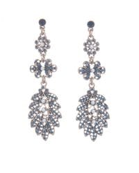 Blue Peacock Earrings