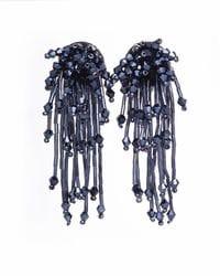 Midnight Blue Firework Earrings