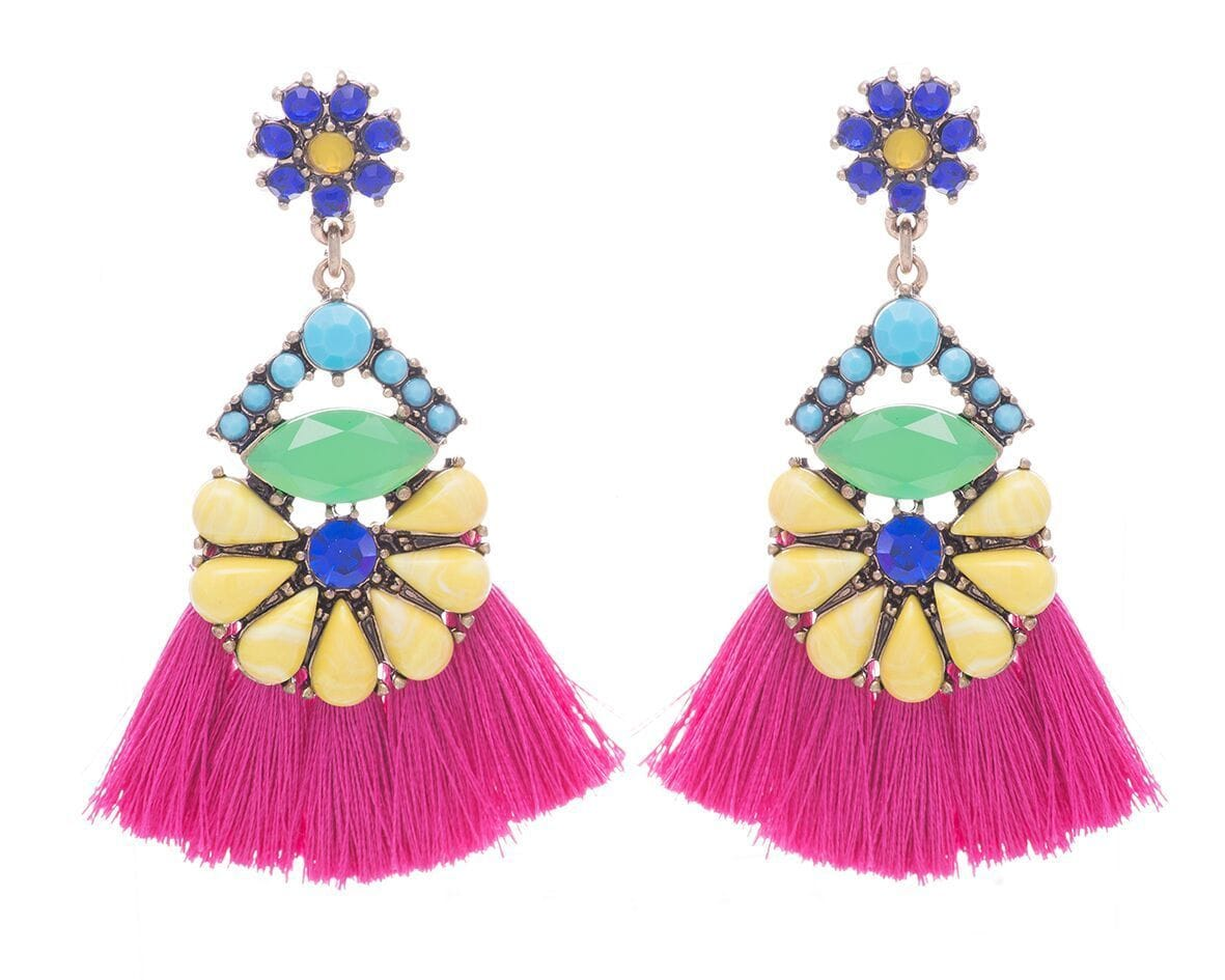 Carmen Tassel Earrings