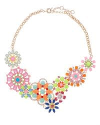 Neon Flower Necklace