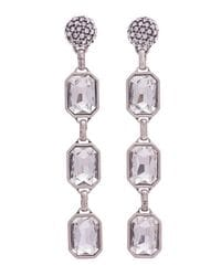 Disco Crystal Drop Earrings
