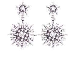 Crystal Super Star Earrings