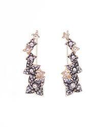 Floral Ear Cuffs