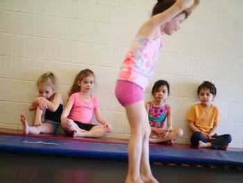Birthday Parties at Trix Acro Gym